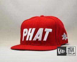 кепка Snapback ASOS PHAT Red красная бейсболка