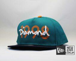 кепка snapback DIAMOND 1998 зеленая бейсболка