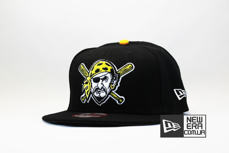кепка snapback pittsburgh pirates new era пират бейсбол купить