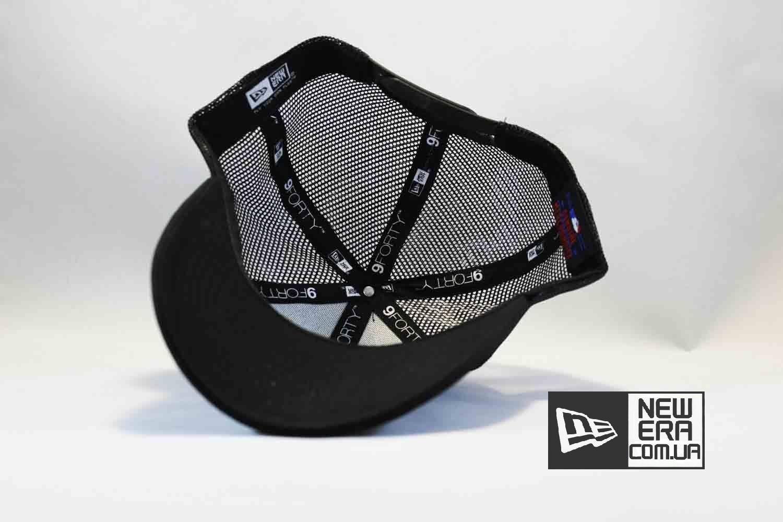 9forty купить Украина кепка бейсболка Trucker NY New York Yankees черная сеточка