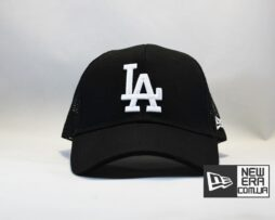 кепка бейсболка trucker LA Los Angeles New Era черная сеточка