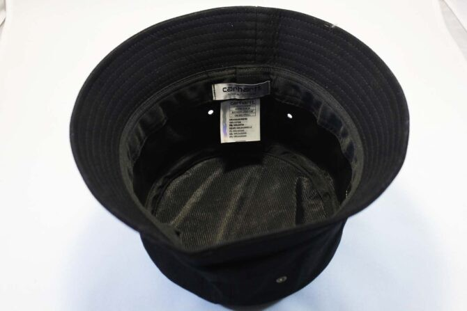 купить оригинальный Carhartt панама Carhartt black кожаный логотип купить