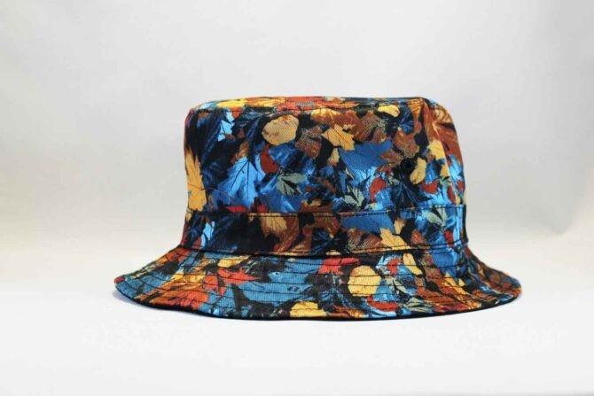 Осенние листья Панама летняя Carhartt черная bucket hat цветная