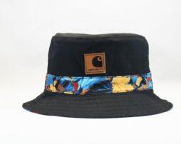 Панама летняя Carhartt черная bucket hat цветная