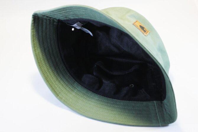 панама унисекс женская мужская панама купить Carhartt зеленая кожаный логотип