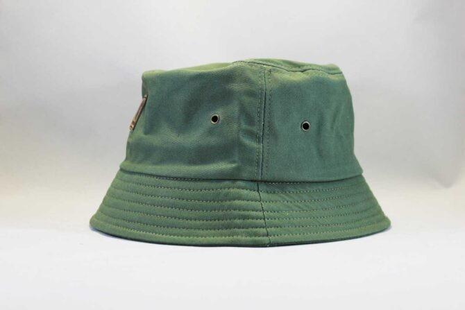 рик коста панама купить Carhartt зеленая кожаный логотип