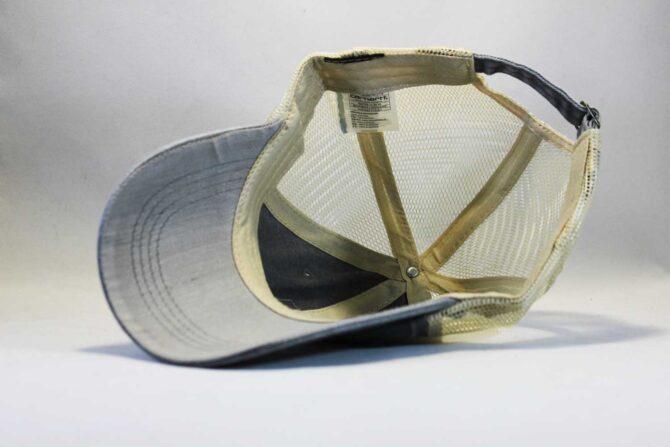 винтажная бейсболка тракер сетка Carhartt серая купить Украина