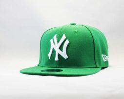 кепка snapback newera new york yankees зеленая green
