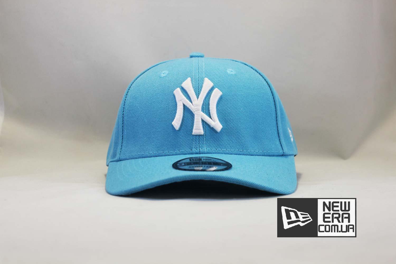 кепка бейсболка snapback New Era New York Yankees голубая купить