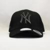 кепка бейсболка yankees NEW ERA New York черная с черным логотипом