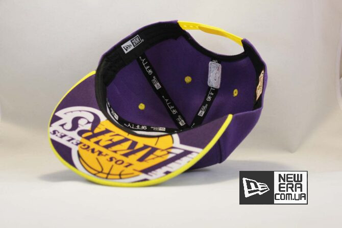 классическая бейсболка кепка snapback los angeles Lakers New Era классическая купить