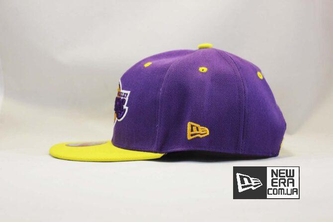 лэйкерс nba баскетбольная кепка snapback los angeles Lakers New Era классическая купить